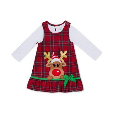 Little Girls Rudolph Jumper