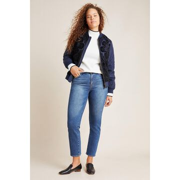 Ella Moss The High-Rise Slim Straight Ankle Jeans