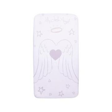Angel Wings Flannel Photo Op Crib Sheet Bedding