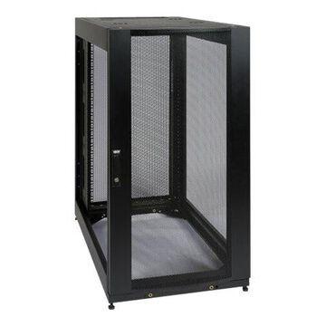 "Tripp Lite 25U Rack Enclosure Server Cabinet w Doors & Sides -Special Price - Rack cabinet - black - 25U - 19"""