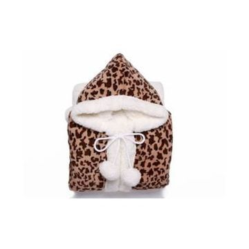 Chic Home Leopard 51x71 Hooded Snuggle Bedding