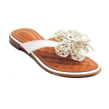 GC Shoes Womens Vida Flat Sandals