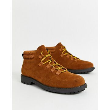 Truffle Collection hiker boot in brown