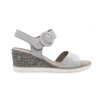 Gabor Two-Strap Suede Sandal