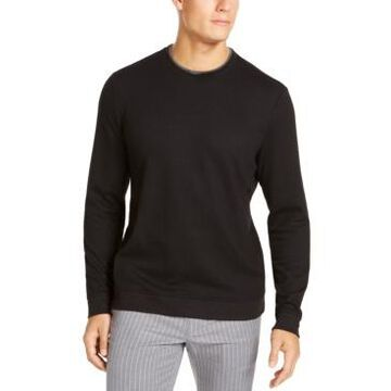 Tasso Elba Men's Crossover Sweater, Created For Macy's