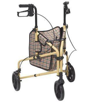 Drive Medical Winnie Lite Supreme 3 Wheel Indoor/Outdoor Rollator Rolling Walker