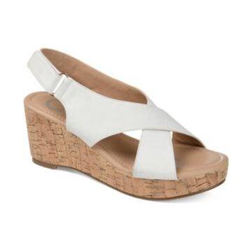 Journee Collection Women's Jenice Wedge Sandal Women's Shoes