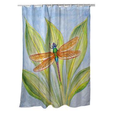 SH299 70 x 72 in. Dicks Dragonfly Shower Curtain
