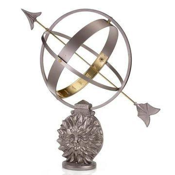 Sun and Moon Armillary Sundial by Good Directions