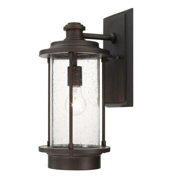 Grant Park 1-light Old Bronze Outdoor Wall Lantern
