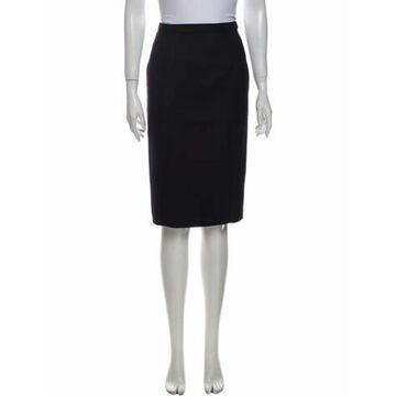 Wool Knee-Length Skirt Wool