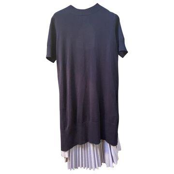 Sacai \N Blue Cotton Dresses
