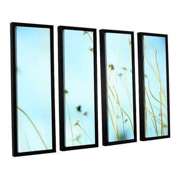 ArtWall 30 Second Daydream Framed Wall Art 4-piece Set, Green, Medium