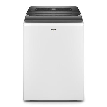 Whirlpool 4.7-cu ft High-Efficiency Top-Load Washer with Pretreat Station - White