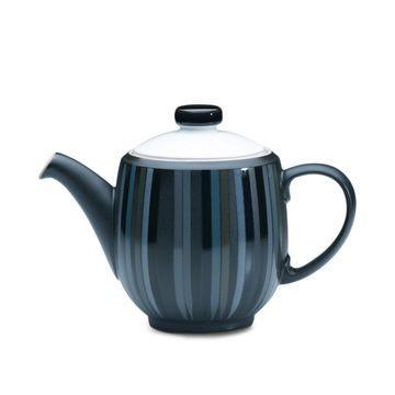 Dinnerware, Jet Stripes Teapot
