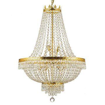 Gallery Empire Crystal 9-light Chandelier