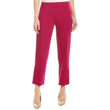 Lela Rose Wool-Blend Pant