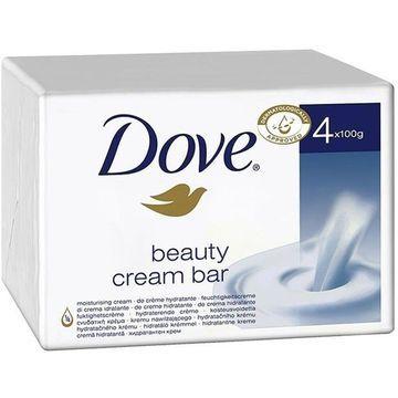 Dove Beauty Cream Bar, Moisturizing Cream, 4-Count
