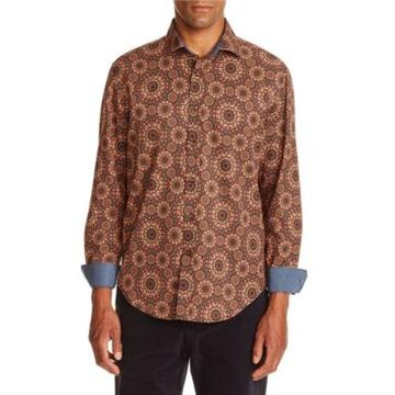 Tallia Men's Medallion Shirt