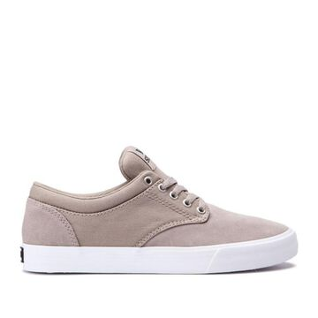 SUPRA Mens Chino Fabric Low Top Lace Up Fashion