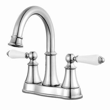 Pfister Courant Centerset Bath Faucet LF-048-COPC Polished Chrome