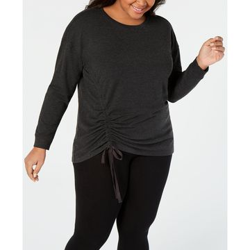 Plus Size Ruched-Side Top, Created for Macy's