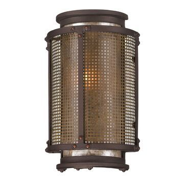 Troy Lighting Copper Mountain 10 Inch Tall 1 Light Outdoor Wall Light Copper Mountain - B3271 - Industrial
