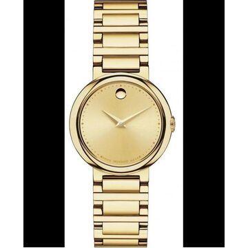 Movado Museum Gold Tone Women's Watch 0606704 0606704