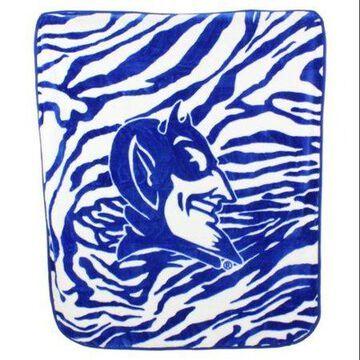 College Covers Duke Blue Devils Raschel Throw Blanket