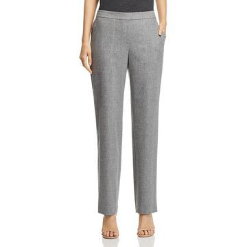 Lafayette 148 New York Womens Wool Cashmere Ankle Pants