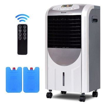 Costway Portable Air Cooler Fan & Heater Humidifier with Filter Remote Control