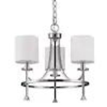 Acclaim Lighting Kara 3-Light Polished Nickel Transitional Candle Chandelier