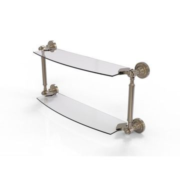 Allied Brass Dottingham-Tier Bathroom Shelf