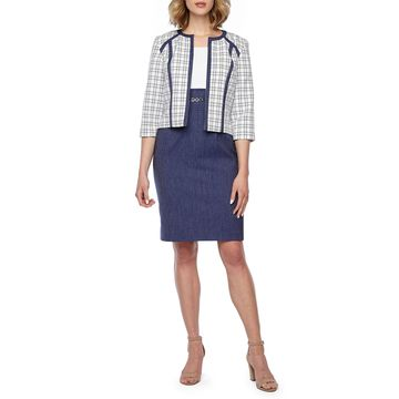 Studio 1 Sleeveless Jacket Dress
