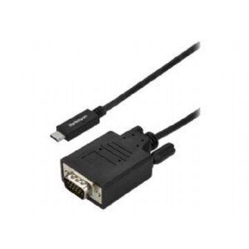 StarTech.com 10FT USBC TO VGA CBL 1920 X 1200 BLK (CDP2VGA3MBNL)