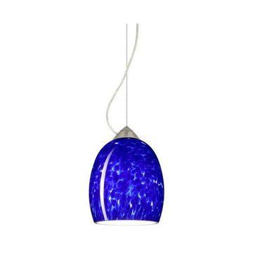 Besa Lighting 1KX-169786 Lucia 1 Light Cable-Hung Pendant
