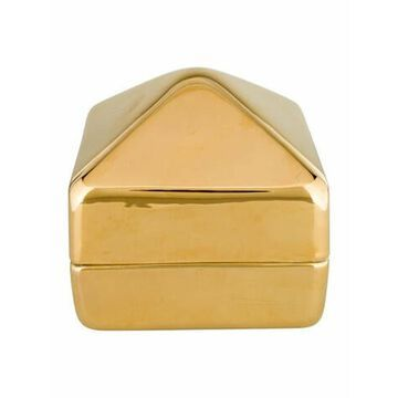 Aerin Graz Gold-Net Ceramic Pyramid Box Gold Aerin Graz Gold-Net Ceramic Pyramid Box