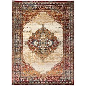Amer Rugs Aliuna Madel 7'9 X 9'9 Area Rug In Red
