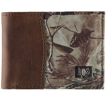 Texas A&M Aggies Bi-Fold Camo Wallet