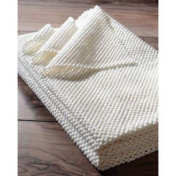 nuLOOM Comfort Grip 8' x 10' Area Rug Pad in White