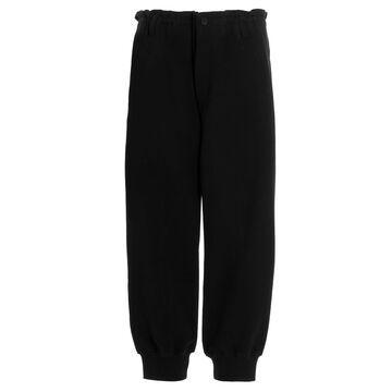 Yohji Yamamoto hem Rib Pant Pants