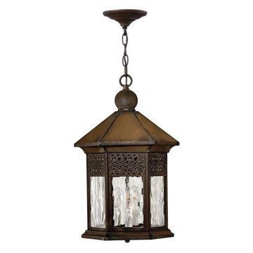 Hinkley Lighting Westwinds 3 Light Outdoor Hanging, Sienna - 2992SN