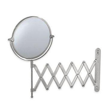 Gatco 26-Inch Accordion Mirror in Satin Nickel