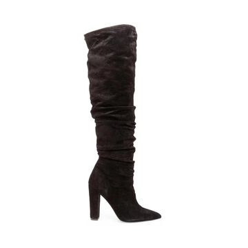 Steven by Steve Madden Womens Elisa Suede Pointed Toe Knee High Fashion Boots - 9