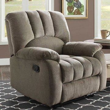 Mainstays Recliner with Pocketed Comfort Coils, Multiple Color Options