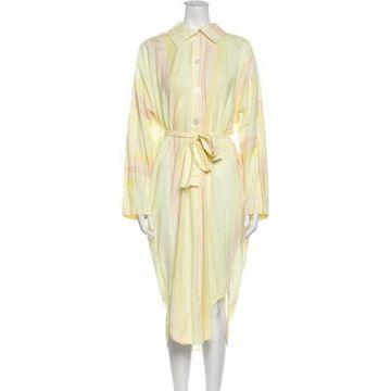 Midi Length Dress Yellow