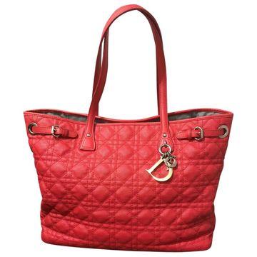 Dior Dior Panarea Red Cloth Handbag