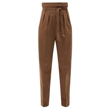 Max Mara - Cester Trousers - Womens - Brown