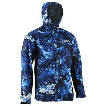 Huk Mossy Oak Elements Hydro Packable Jacket for Men