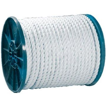 Seachoice Twisted Nylon Rope, White
